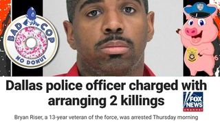 Dallas Officer Hires Hitman, Has Two Citizens Executed, Was Still On Patrol ...in under a minute