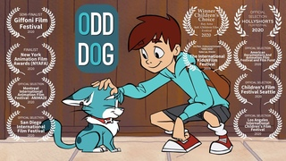 Odd Dog   Official 2D Animated Short Film   greyscale animation