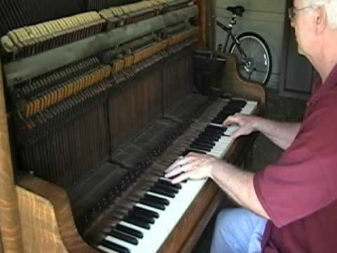 Old piano adventure; the saloon sound