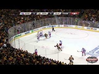 New York Rangers - Boston Bruins  Game 5 NHL Playoffs May 25  2013 Highlights