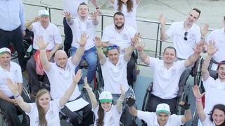 """Фильм об учебно-реабилитационном курсе """"Основы независимой жизни человека на инвалидной коляске"""""""