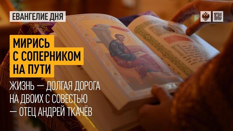 Мирись с соперником на пути Жизнь долгая дорога на двоих с совестью отец Андрей Ткачёв