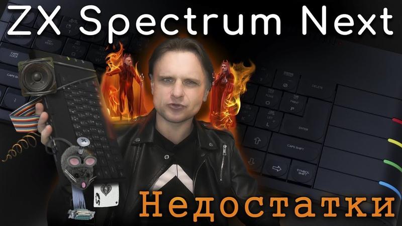 ZX Spectrum Next Проблемы и недостатки | ZX Spectrum Next Weaknesses. ENG CAPTIONS