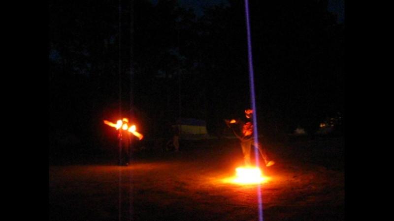 Огненое шоу на Тавале