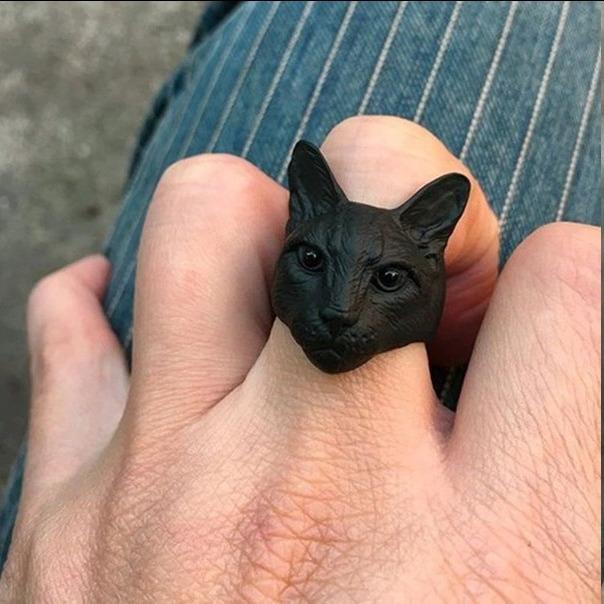 Кольцо Кот -