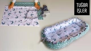 Çok Pratik Babynest Kesimi ve Dikimi (Very Simple Babynest Cutting and Sewing) | Tuğba İşler