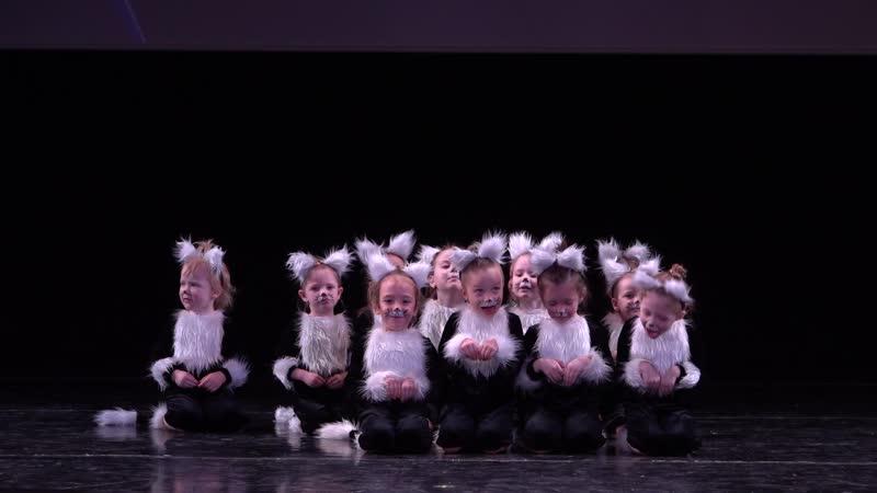 YouLa танцы и фитнес номер Котята конкурс Carpe Diem