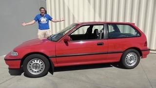 Honda Civic Si 1991 года был ранним горячим хэтчбеком