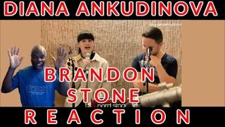 American REACTION Diana Ankudinova BRENDON STONE | Диана Анкудинова. Репетиция у БРЕНДОНА СТОУНА