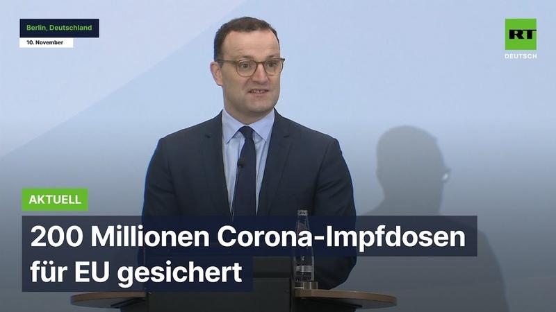 """Berlin 200 Millionen Corona-Impfdosen auch für nicht """"attraktive Pharmamärkte"""" gesichert"""