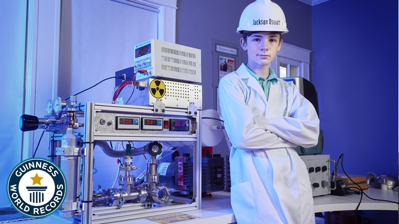 How a 12 year old achieved nuclear fusion Guinness World Records
