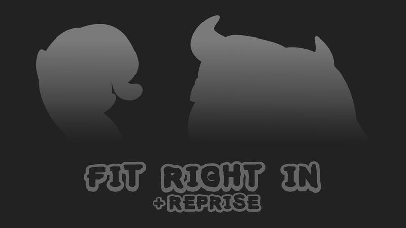 MLP:FiM Season 9 - Fit Right In [Reprise] (8D Audio Lyrics)