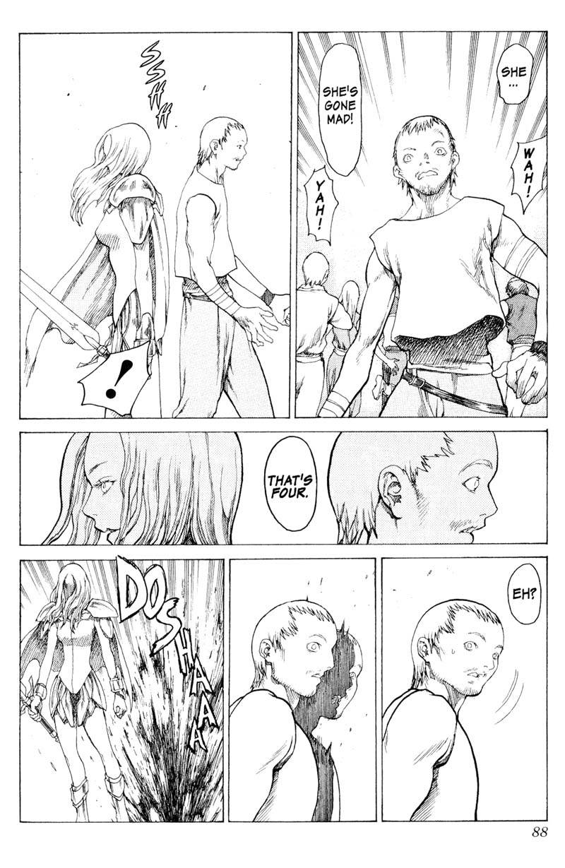 Claymore, Chapter 12, image #17
