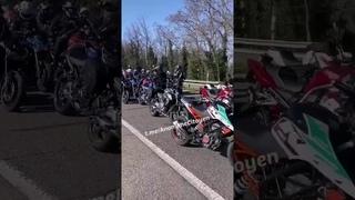 Énormément de #motards présent à #Valence aujourd'hui