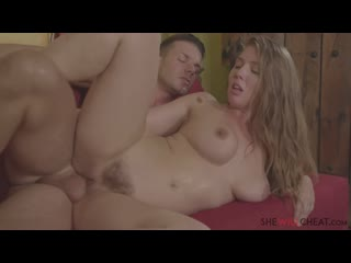 Lena Paul Cheats on Her Husband with Her Therapist Cheating MILF wife