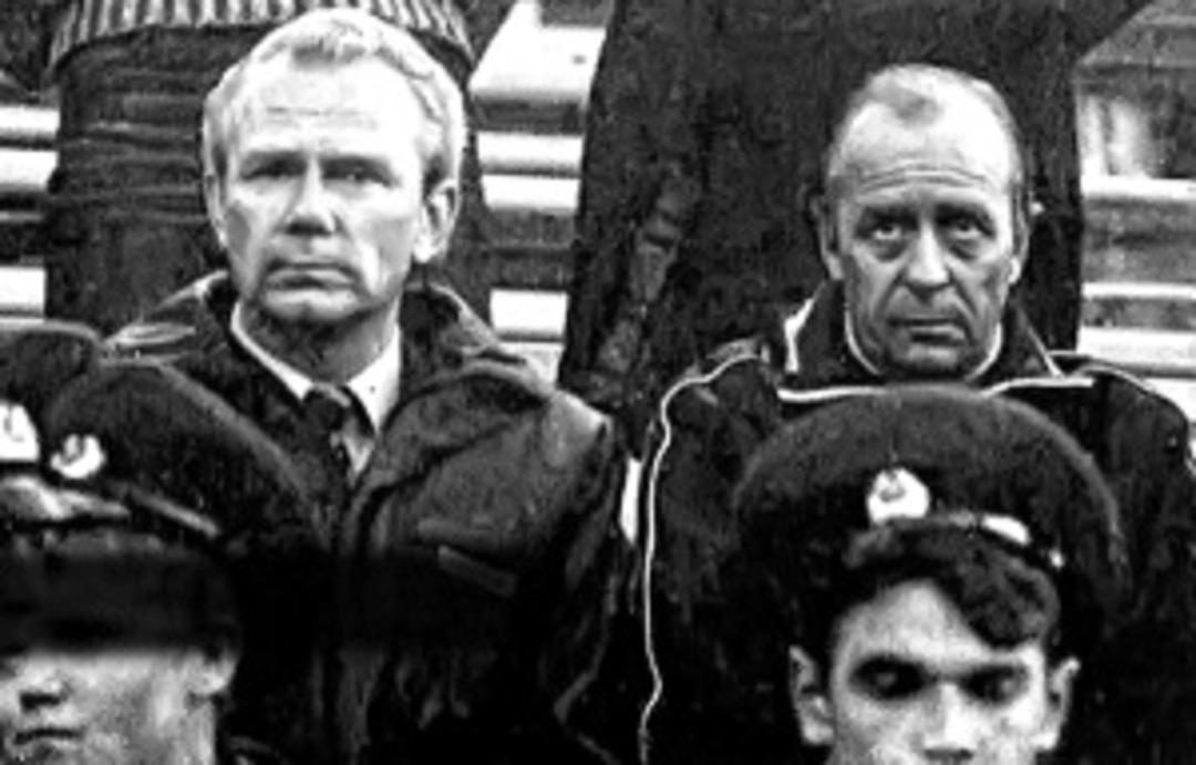Олег Борисов и Валерий Лобановский