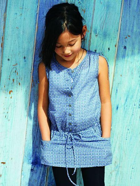 Выкройки туник и блузок для девчонок