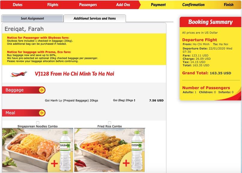 Как сайты аэрокомпаний используют UX дизайн, чтобы получить наши деньги, изображение №6