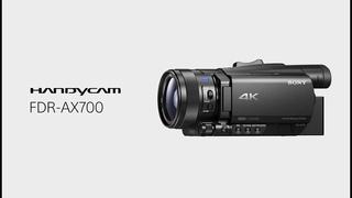Sony FDR-AX700 Полный тест камеры.