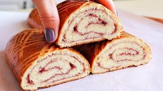 ЛАКОМСТВО ЗА 10 МИНУТ! Рецепт НАХОДКА!!! Творожное тесто + начинка любая! Очень Вкусно!
