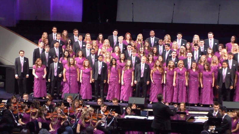 All Creatures Of Our God and King University Choir and Orchestra UCO Cal Baptist University