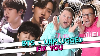 BLOWN AWAY! // BTS 'Fix You' (Coldplay Cover) // BTS MTV Unplugged Reaction Video