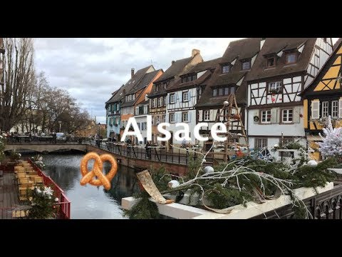 Christmas in ALSACE France Colmar Eguisheim and Riquewihr