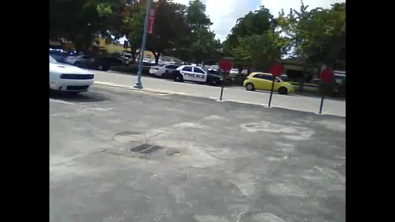 November 6th 2015 Hollywood Florida Gangstalked by Police Near Barry University's Campus