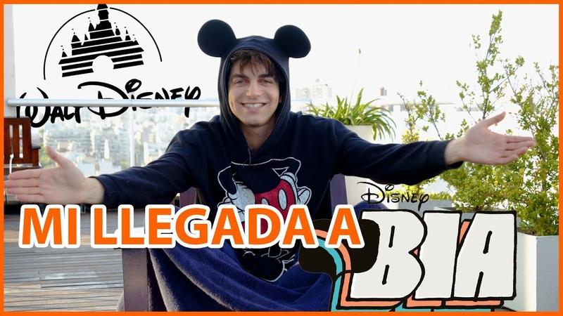 Rodrigo Rumi I Mi llegada a Disney BIA