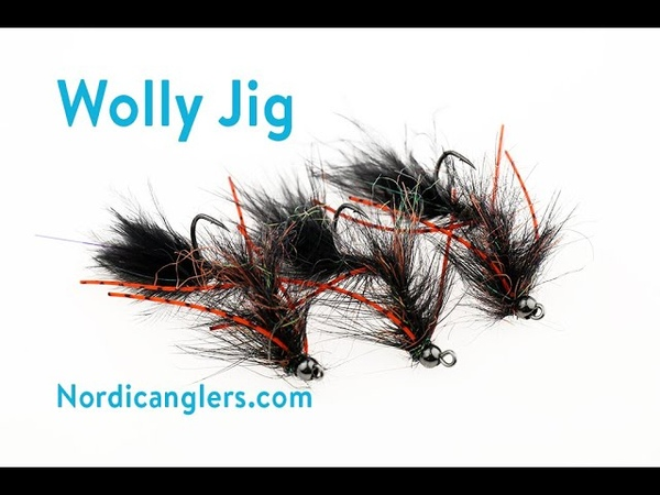 Fly Tying instruction on how to tie the Wolly jig fly