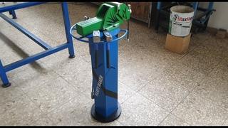 Supporto per morsa fai da te con disco di freni  - DIY vise holder with brake disc