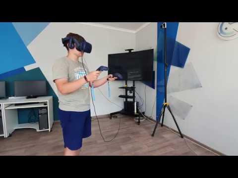 Практическое применение системы виртуальной реальности HTC Vive Pro