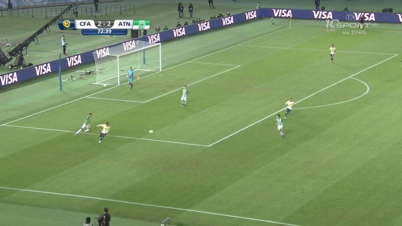 Клубный чемпионат мира 2016 FIFA Club World Cup 2016 Матч за третье место Америка Мексика Атлетико Насьональ Колумбия
