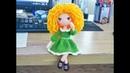 Crochet Amigurumi Doll Tutorial part 2 (outfit)_Hướng dẫn móc búp bê đầu xoăn phần 2- quần áo
